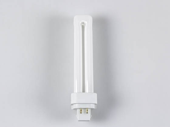 TCP 32418Q30K 18W 4 Pin Soft White Quad Double Twin Tube CFL Bulb