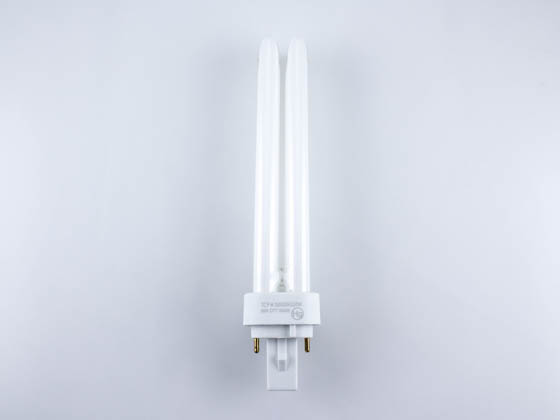 TCP 32026Q35K 26W 2 Pin Neutral White Quad Double Twin Tube CFL Bulb