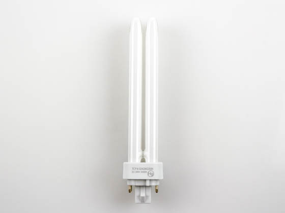 TCP 32426Q30K 26W 4 Pin Soft White Quad Double Twin Tube CFL Bulb