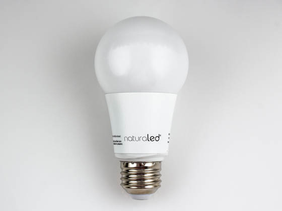 NaturaLED 5823 LED9.5A19/88L/50K Dimmable 9.5W 5000K A19 LED Bulb