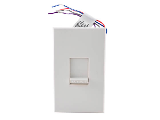 Lutron Electronics NFTV-WH Lutron Nova NFTV-WH 0-10 V 16A Fluorescent/LED Single Pole Dimmer