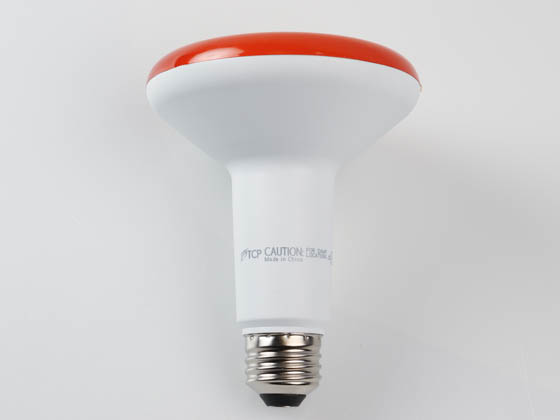 TCP LED12BR30DAMB Dimmable 12W Amber BR30 LED Bulb