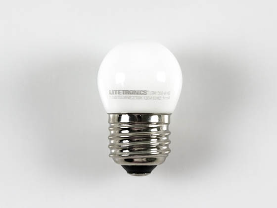 Litetronics LD01512WH2 Non-dimmable 1W 2700K S11 LED Bulb