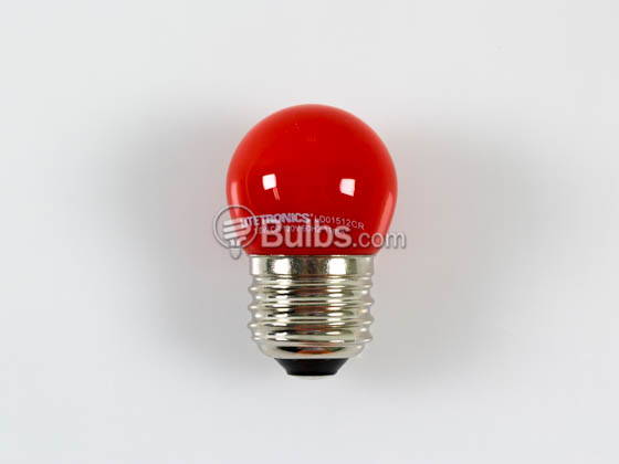 Litetronics LD01512CR Non-dimmable 1W Red S11 LED Bulb