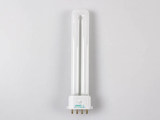 Ushio 3000178 CF9SE/841 9W 4 Pin 2G7 Cool White Single Twin Tube CFL Bulb