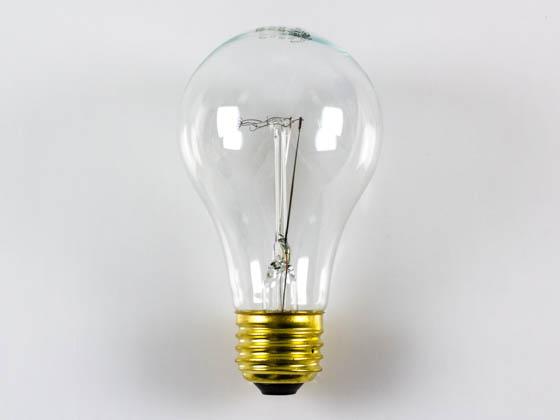 Halco 60w 130v A19 Clear Bulb Vibration Service E26 Base