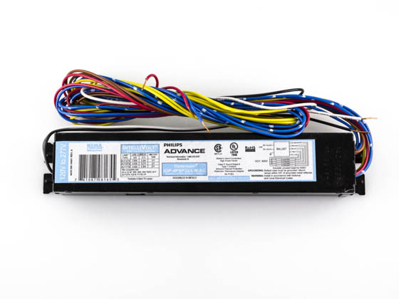Advance Transformer IOP4PSP32LWSC IOP4PSP32LWSC35I Philips Advance Electronic Ballast 120V to 277V for (3 or 4) F32T8