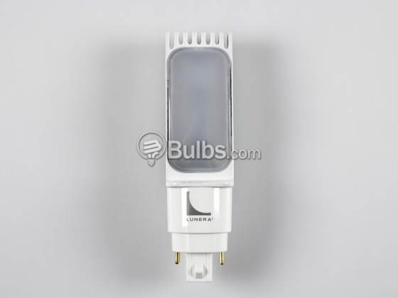 Lunera Lighting HN-H-G24Q-26W-3500-G3 Lunera 13W 4 Pin Horizontal 3500K G24q LED Bulb, uses Ballast