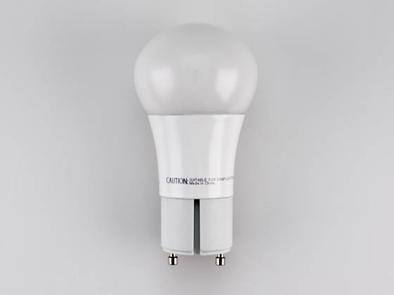 TCP LED10A19GUDOD30K Dimmable 10W 3000K A19 LED Bulb, GU24 Base, Enclosed Rated