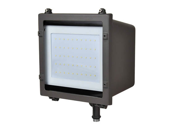 NaturaLED 7179 LED-FXFDL29/40K/DB-KNC 29 Watt LED Flood Light Fixture, 4000K