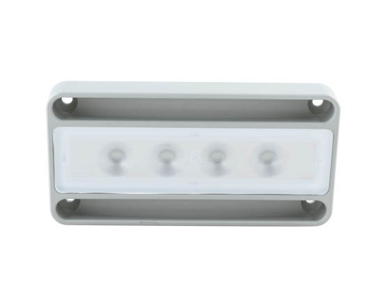 Lumitec Lighting 101070 Nevis Surface Mount Lumitec Nevis Utility Marine LED Light, White Output