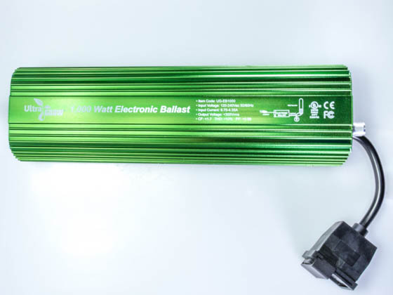UltraGrow UG-EB1000 UltraGROW Electronic Ballast for 1000W Grow Lamp