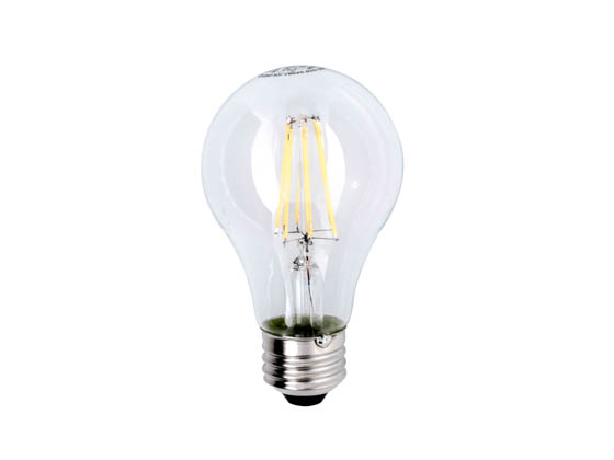 Lighting Science FG-02538 LSPro A19 60WE W27 FIL 120 BX Dimmable 6.5W 2700K Filament A19 LED Bulb