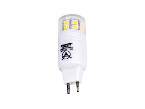 Bulbrite 770560 LED3GY6/SW/D Dimmable 3W 3000K T4 LED Bulb, GY6 Base