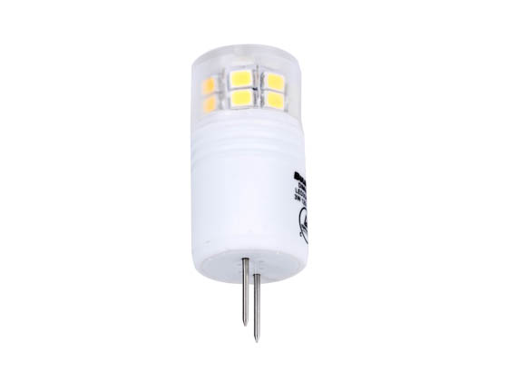 Bulbrite 770570 LED3G8/SW/D Dimmable 3W 3000K T4 LED Bulb, G8 Base