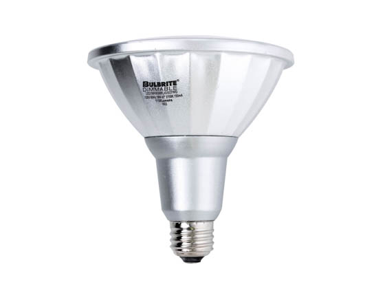 Bulbrite 772640 LED18PAR38/FL40/927/WD Dimmable 18W 90 CRI 2700K 40° PAR38 LED Bulb, Wet Rated
