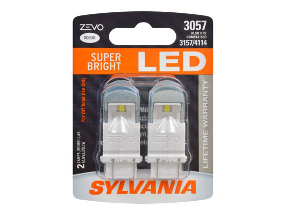 Sylvania 31951 ZEVO2 G2 3057LED.BP2 EN-SP 2/SKU 72/CS 3057 ZEVO LED Automotive Bulb