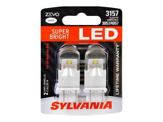 Sylvania 32709 ZEVO2 G2 3157LED.BP2 EN-SP 2/SKU 72/CS 3157 ZEVO LED Automotive Bulb