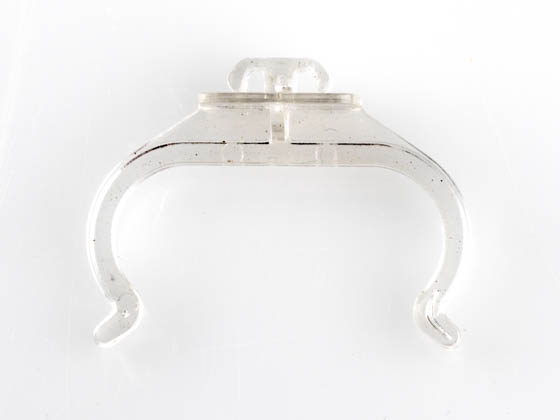 Satco Products, Inc. 80-1606 Satco Clear Plastic Horizontal Clip