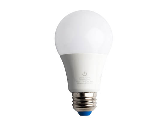 Green Creative 58039 9A19G4/840/277V Non-Dimmable 9 Watt, 120 - 277 Volt 4000K A-19 LED Bulb, Enclosed Rated