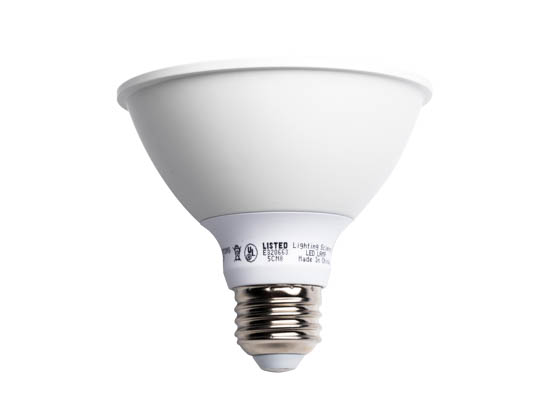 Lighting Science FG-02611 LSPro 30SN 75WE WW NFL 120 BX Dimmable 14W 93 CRI 3000K 25° PAR30/S LED Bulb, Wet Rated