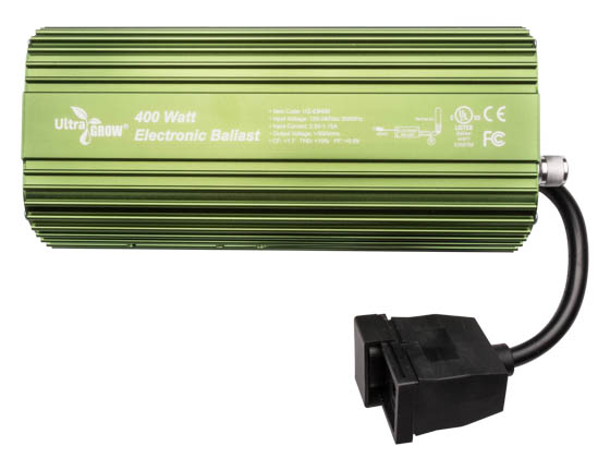 UltraGrow UG-EB400 Electronic Ballast for 400W Grow Lamp