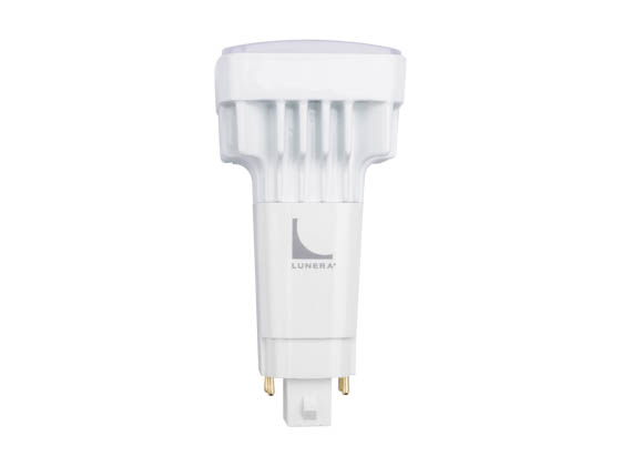 Lunera Lighting HN-V-G24Q-B-11W-835-G4 Lunera Dimmable 11W 4 Pin Vertical 3500K G24q LED Bulb, Uses Existing Ballast