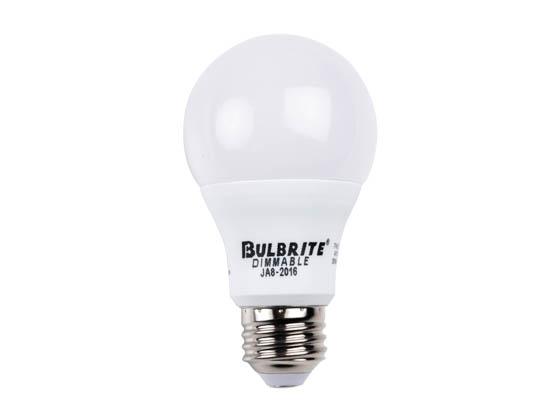 Bulbrite Dimmable 9 Watt 3000k A19 Led Bulb 4pk Ja8