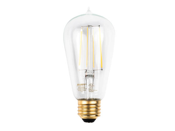 Bulbrite 776669 LED7ST18/30K/FIL/2 Dimmable 7W 3000K ST-18 Filament LED Bulb