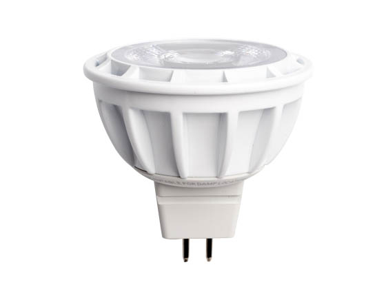 Bulbrite 771307 LED8MR16FL35/50/830/D Dimmable 8W 3000K 35° MR16 LED Bulb, GU5.3 Base, Enclosed Rated
