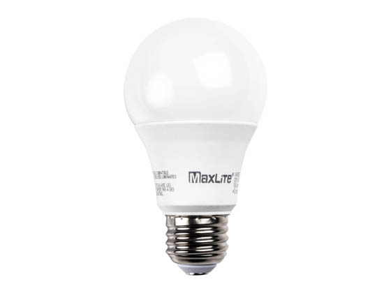 MaxLite 107585 11A19DLED27/G5 Maxlite Dimmable 11W 2700K A19 LED Bulb