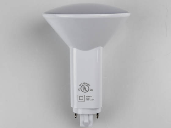 Green Creative 28377 9.5PLV/840/DIR Dimmable 9.5W 4 Pin Vertical 4000k G24q LED Bulb, Uses Existing Ballast