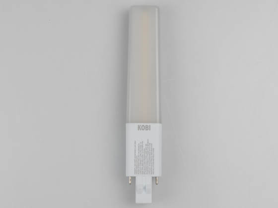 Kobi Electric K5Q6 PL-840-RPP-GX23 Kobi Non-Dimmable 8W 2 Pin Horizontal 4000K GX23 Hybrid LED Bulb