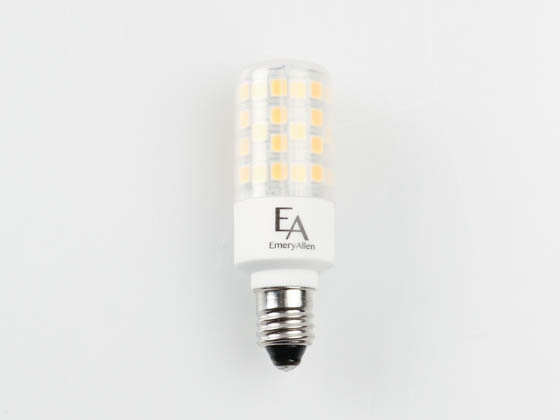 EmeryAllen EA-E11-4.5W-001-279F-D Dimmable 4.5W 120V 2700K T3 LED Bulb, E11 Base, Enclosed Fixture Rated, JA8 Compliant