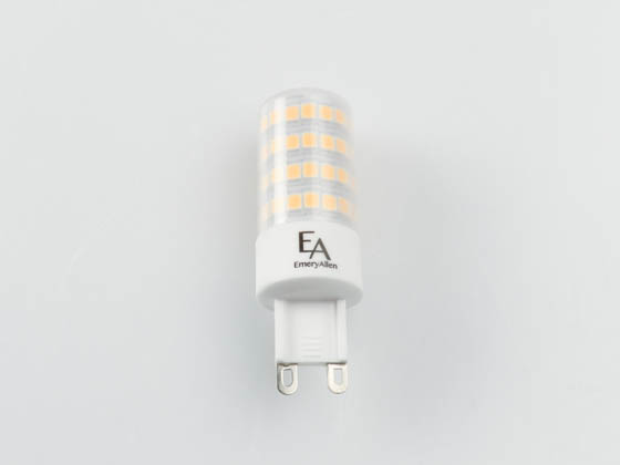 EmeryAllen EA-G9-5.0W-001-309F-D Dimmable 5W 120V 3000K T3 LED Bulb, G9 Base, Enclosed Rated