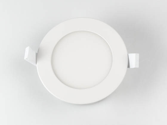 "Bulbrite 773106 LED8JBOXDL/4/830/WHRD/D Dimmable 4"" 8.5W 3000K LED Downlight, No Recessed Can or J-Box Needed"