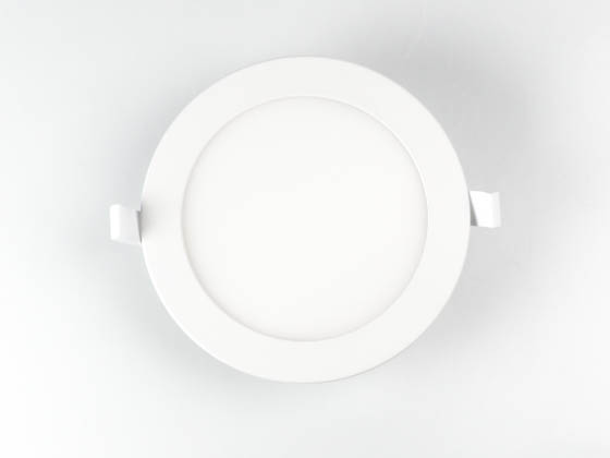 "Bulbrite 773126 LED11JBOXDL/6/830/WHRD/D Dimmable 6"" 11.6W 3000K LED Downlight, No Recessed Can or J-Box Needed"