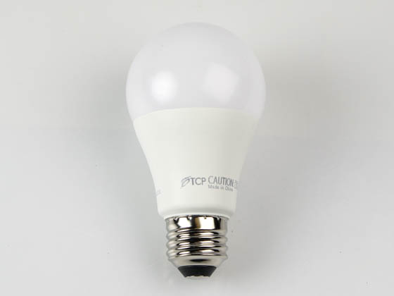 TCP L11A19D2530K Dimmable 13.5W 3000K A19 LED Bulb, Enclosed Rated