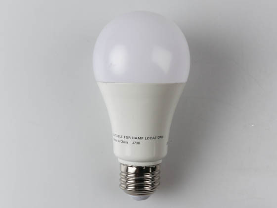 Satco Products, Inc. S29816 15A19/LED/3000K/1600L/120V/D Satco Dimmable 15.5W 3000K A21 LED Bulb, Enclosed Rated