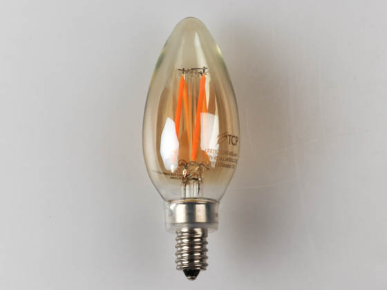 TCP LFB11C6022AD Dimmable 5.5W 2200K Decorative Vintage Filament LED Bulb