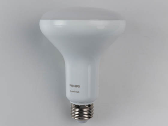 Philips Lighting 473876 8BR30/LED/827-50-22/E26/SSCC FB 1PK Philips Non-Dimmable 8/7/3 Watt 2700K/5000K/2200K BR30  SceneSwitch LED Bulb