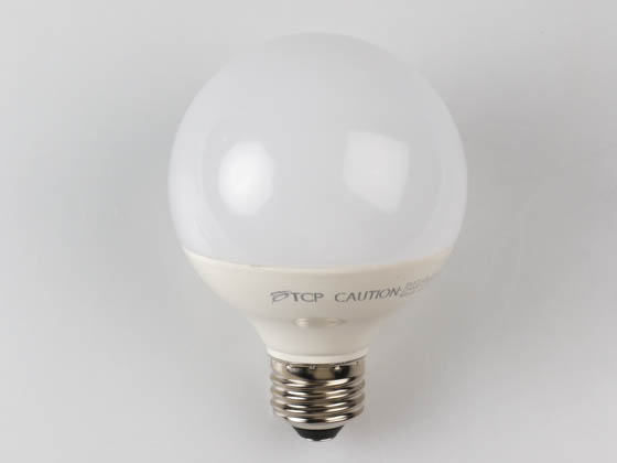 TCP L6G25D2530KF Dimmable 6W 3000K G25 Globe LED Bulb