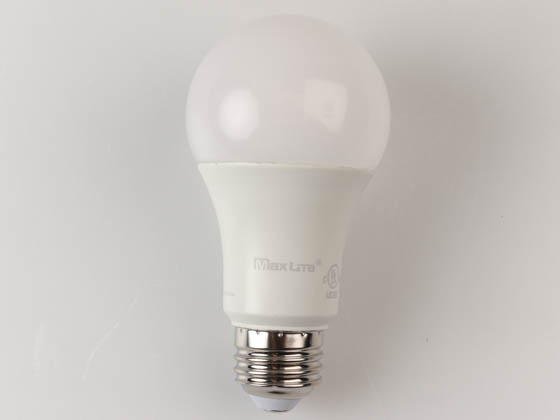 MaxLite 14099403 E15A19DLED30/G6 Dimmable 15W 3000K A19 LED Bulb, Enclosed Rated