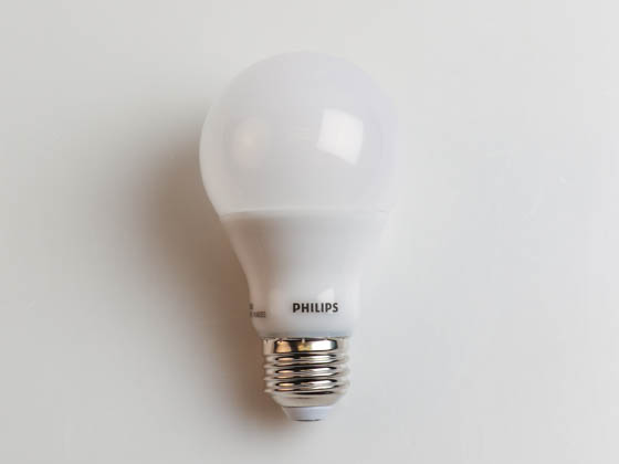 Philips Lighting 533885 9A19/AMB/850/DIM 120V CA Philips Dimmable 9W 5000K A19 LED Bulb, Enclosed Rated