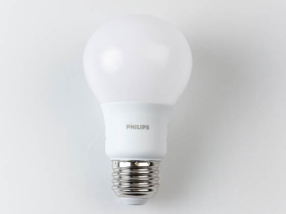 Philips Lighting 479963 9A19/LED/927/P/E26/ND Philips Non-Dimmable 9W 2700K A19 LED Bulb