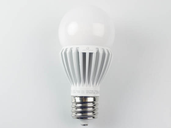 Green Creative 97968 25HID/830/277V/EX39 Non-Dimmable 25W 120-277V 3000K A-23 LED Bulb, Enclosed Rated, EX39 Base, Ballast Bypass
