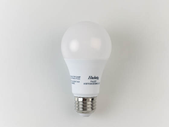Halco Lighting 81156 A19FR9/830/OMNI2/LED Halco Dimmable 9.5W 3000K A-19 LED Bulb, Enclosed Rated