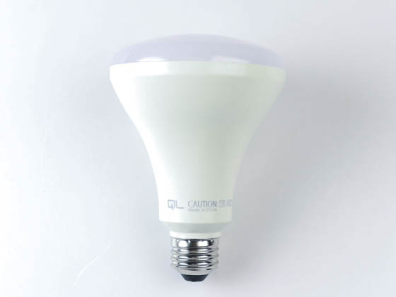QLS LR30D6540E Dimmable 8.5 Watt 4000K BR30 LED Bulb, Enclosed Rated