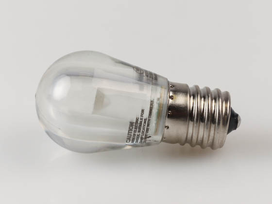 Westinghouse 4511400 1.5S11/LED/CL/IN/27 1CD Non-Dimmable 1.5 Watt Clear S11 LED Bulb, Intermediate Base, Enclosed Rated