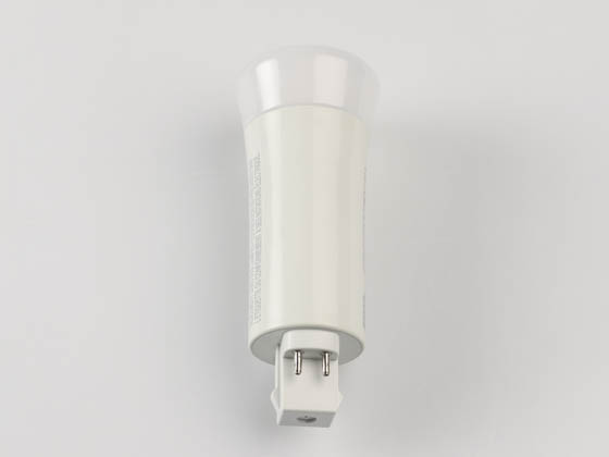 Eiko 09940 LED9W4PV/830DR-G7 Non-Dimmable 9W 4 Pin Vertical 3000K G24q LED Bulb, Ballast Compatible